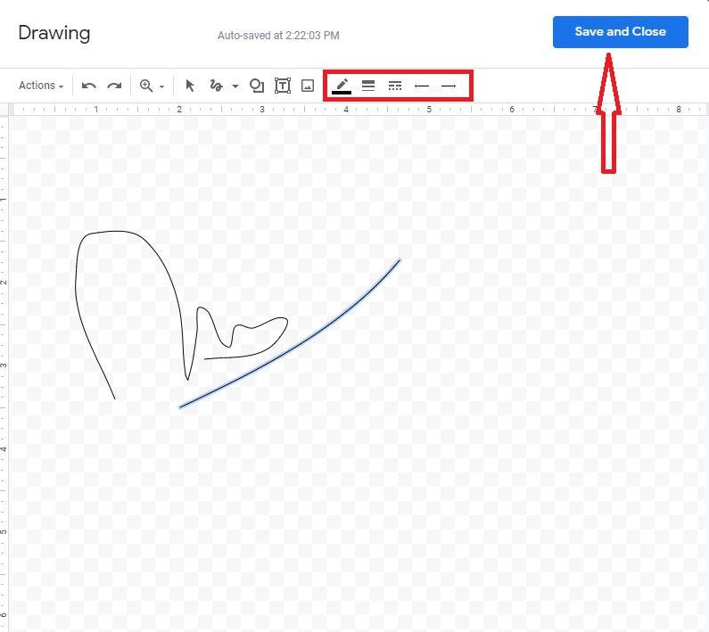 Drawing Tools Signature Final