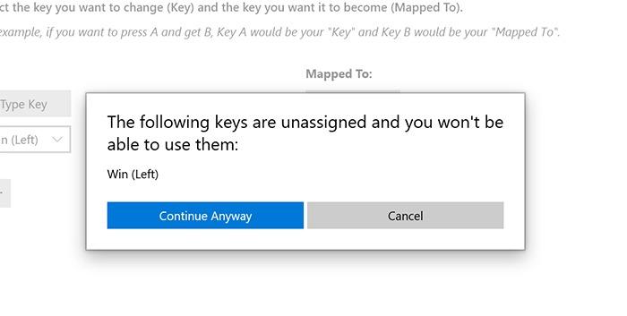 Disable Windows Key