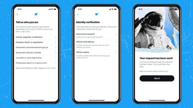 Twitter Verification Retstart