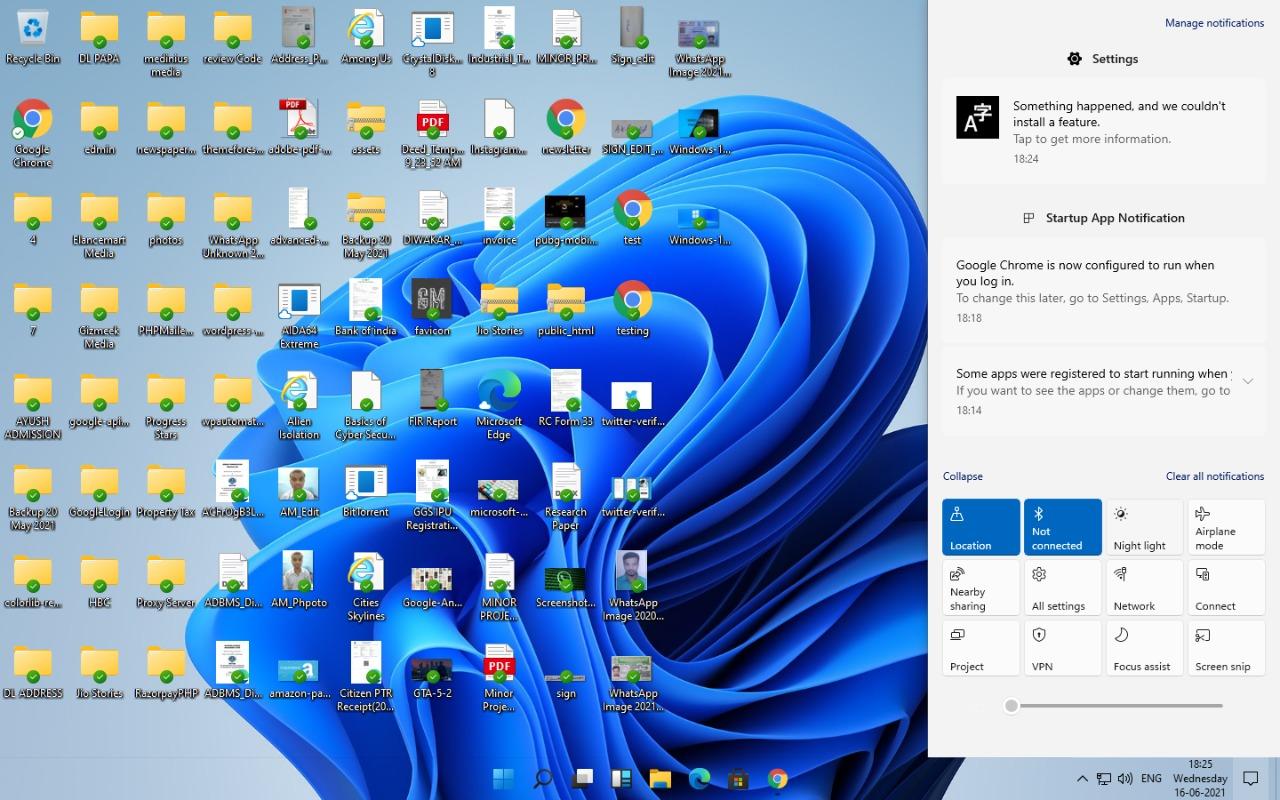 Windows 11 Notification Center